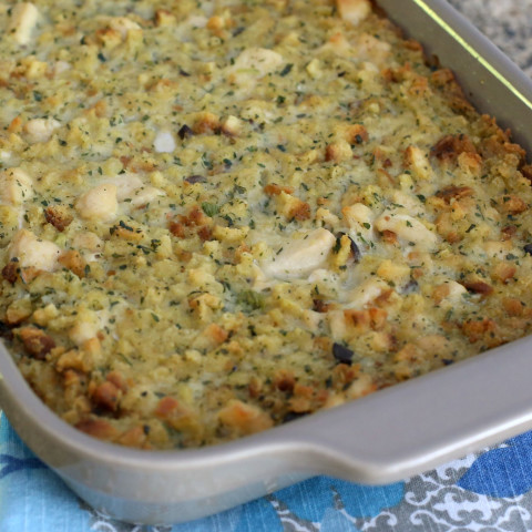 Chicken and Dressing Casserole Recipe