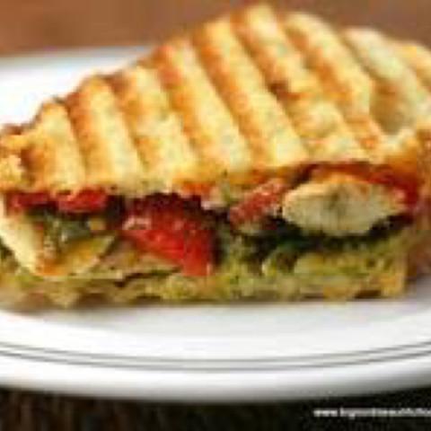 Chicken Panini Sandwiches