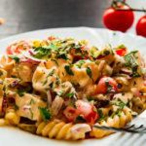 Chicken Pasta Salad Recipe 🥗