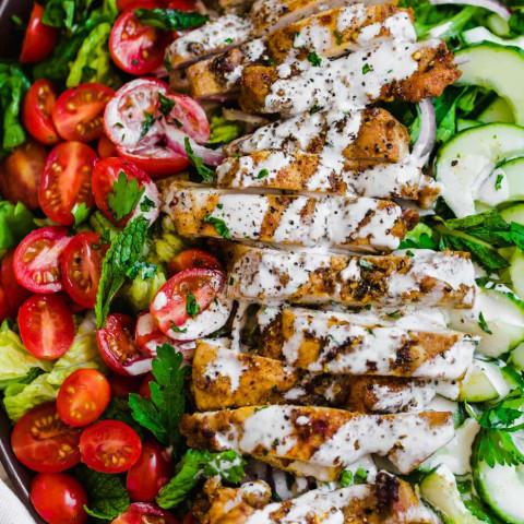 Chicken Shawarma Salad (Paleo and Whole30)