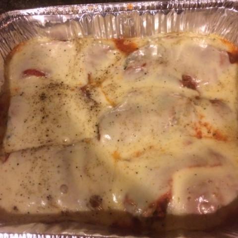 Chicken Spinach Parmesan