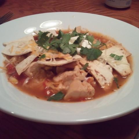 Chicken Torilla Soup