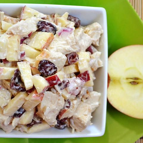 chicken 'n apple salad