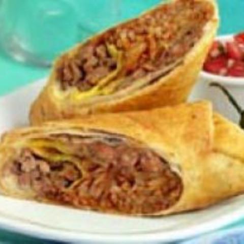 Chimichanga (Deep Fried Enchilada)