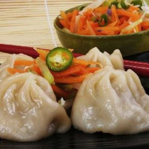 Chinese Steamed Buns with Roast Pork (cha Shao Pao)