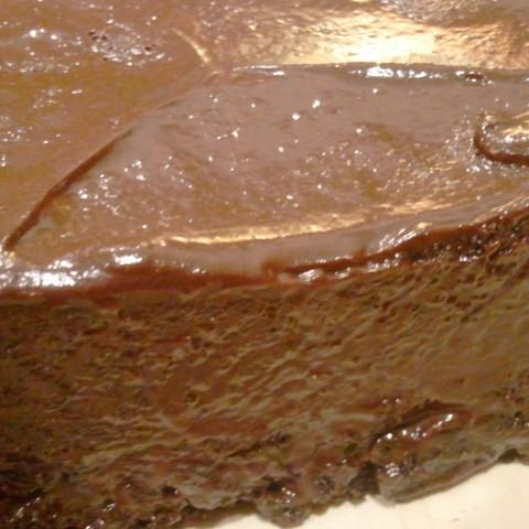 Orange You Glad It's Chocolate Cake