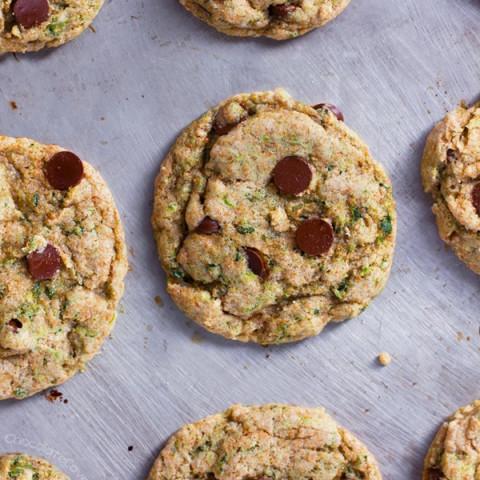 Chocolate Chip Kale Cookies