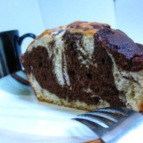 Chocolate Marble Cake - Lowfat