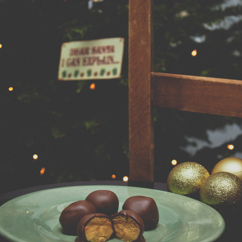 Chocolate Peanut Butter Balls