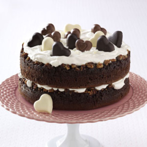 Chocolate-Praline Layer Cake Recipe