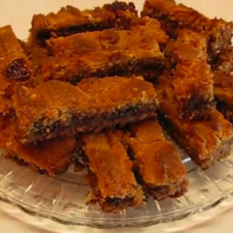 Chocolate-y Peanut Butter Bars