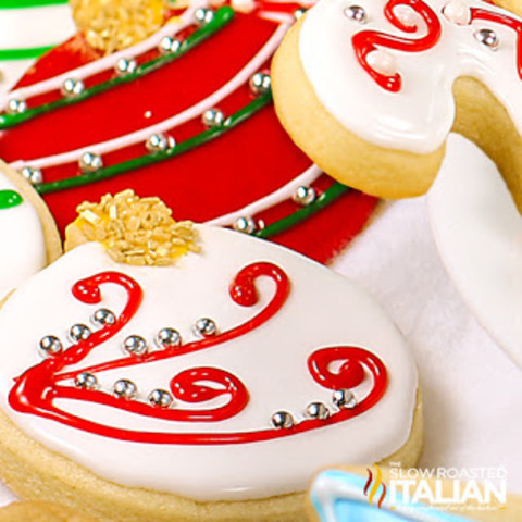 Christmas Sugar Cookies (Cut Out Cookies)