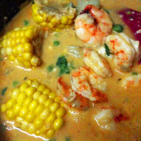 Chupe de Camarones (Peruvian Shrimp Chowder)
