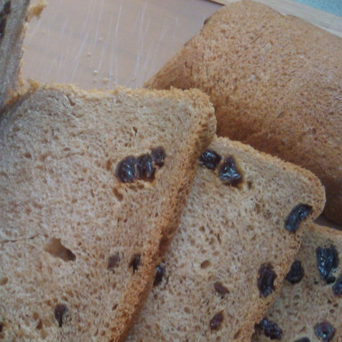 raisin bread machine recipes