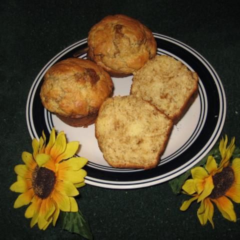 Cinnamon-Ripple Coffee Cake Muffins