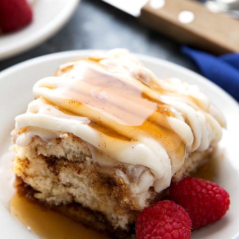 Cinnamon Roll Biscuit Bake