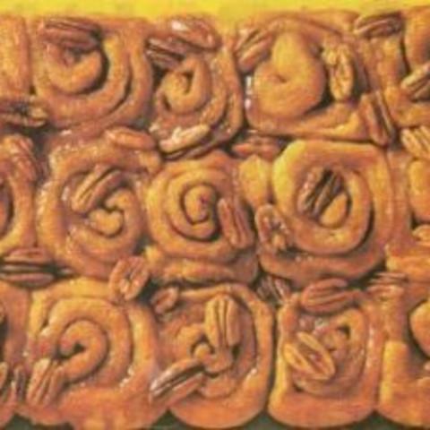 Cinnamon Rolls with Pecans