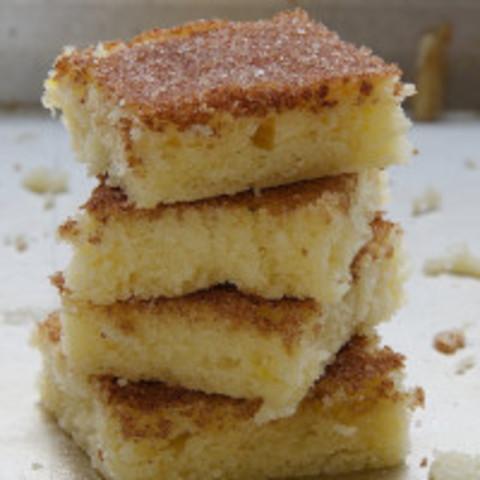 Cinnamon Sugar Cookie Squares