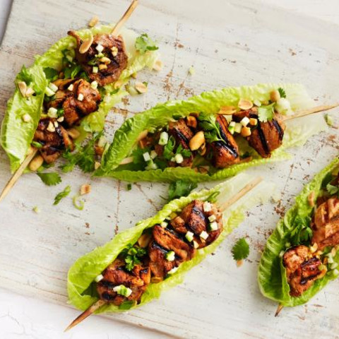 Coconut-and-Lime Pork Kebabs