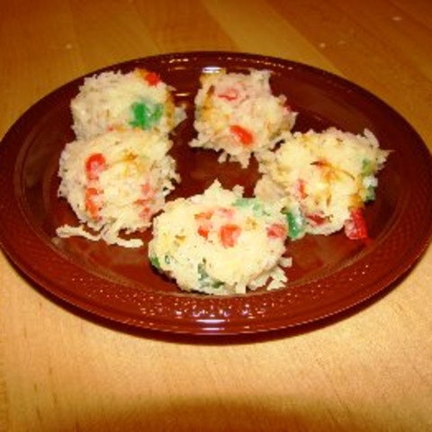 Coconut Cherry Snowballs