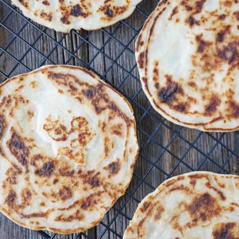 Coconut Flour Naan (Coconut Flour Flatbread)