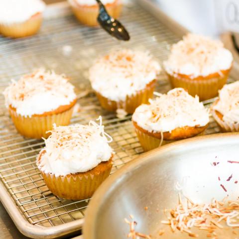 Coconut Vanilla Cupcakes