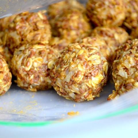coconut and honey no-bake energy bites