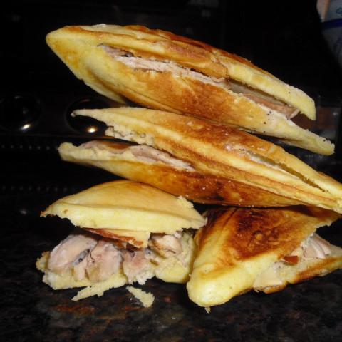 Corn Bread Sandwiches