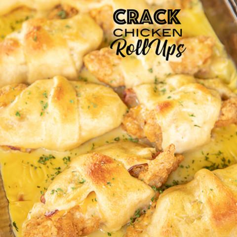 Crack Chicken Roll Ups