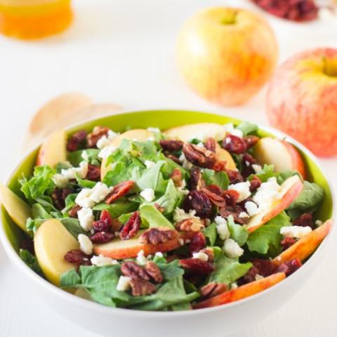 Cranberry-Apple-Pecan Salad