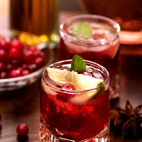 Cranberry Lime Infused Vodka