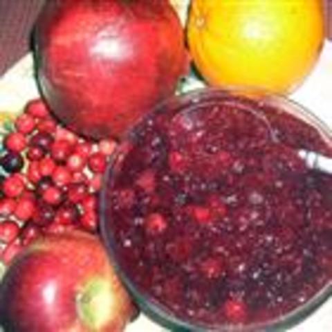 Cranberry Pomegranate Sauce
