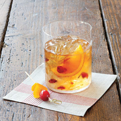 Cranberry Old Fashioned Cocktail