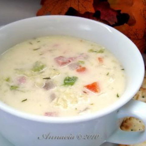 Creamed Cabbage Soup