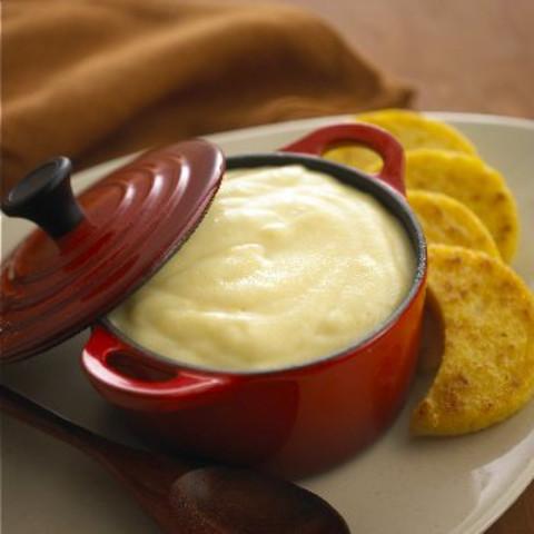 Creamy Chavrie Goat Cheese Polenta