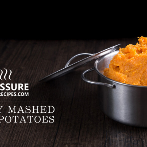 Creamy Pressure Cooker Mashed Sweet Potatoes