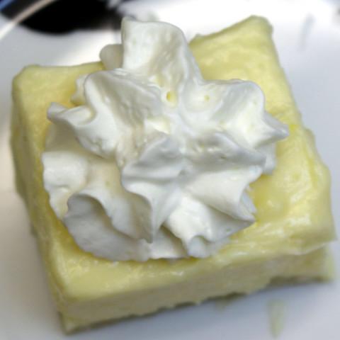 Cremeschnitte Napoleon Cake or Snowflake Food
