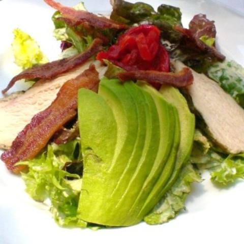 Crispy Bacon And Avocado Salad
