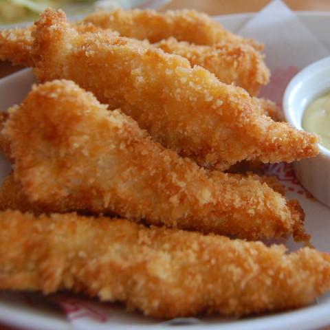 Crispy Baked Chicken Fingers