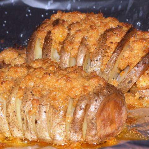 Crispy Baked Potatoe Fans