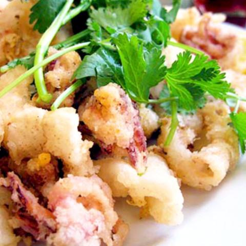Crispy Squid with Chilli and Salt