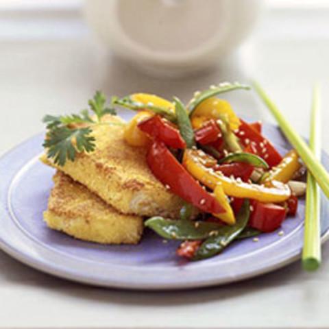 Crispy Tofu and Vegetables