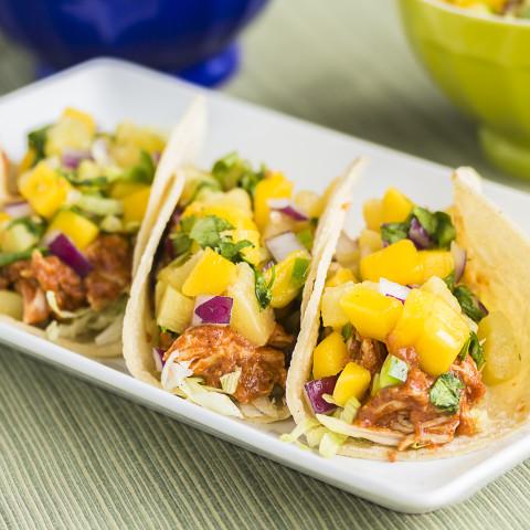 Crock Pot Chicken for Tacos