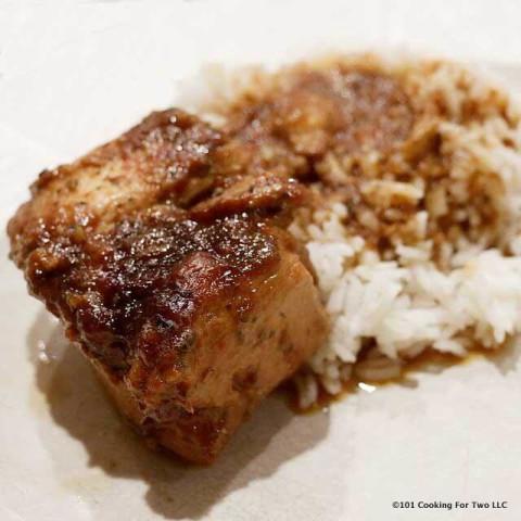 Crock Pot Honey Garlic Chicken Breast