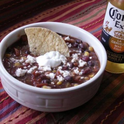 Crock Pot Turkey Taco Soup
