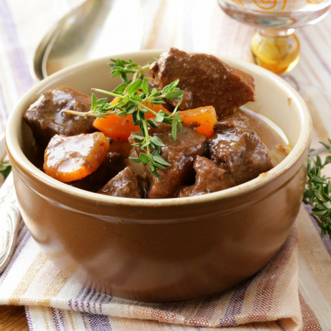 Crockpot Beef Bourguignon
