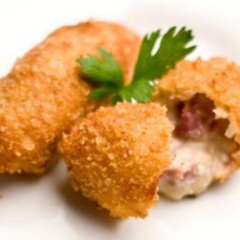 Croquetas de Jamon (Spanish Ham Croquettes)