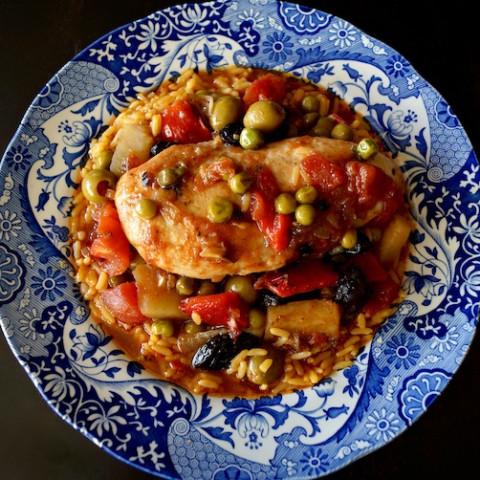 Cuban-Style Chicken Stew Recipe