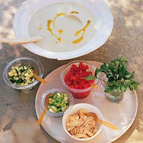 Cucumber-Buttermilk Gazpacho