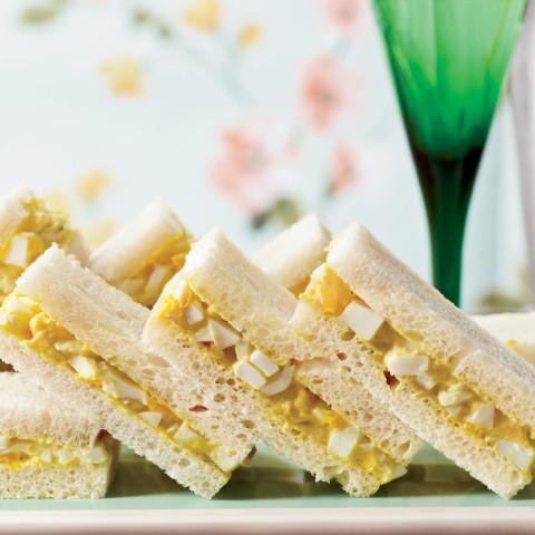 Curried-Egg Tea Sandwiches